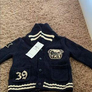 Polo sweater for toddlers